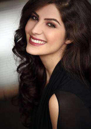 Elnaaz Norouzi Actress Black Top Sexy Smile