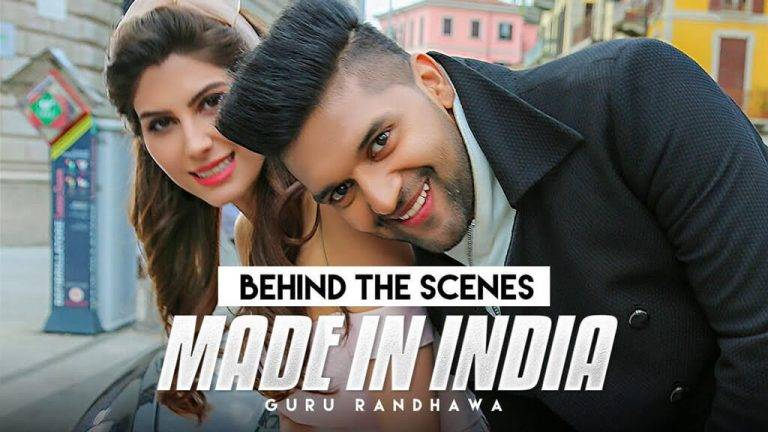 Made in India Music Video Elnaaz Norouzi