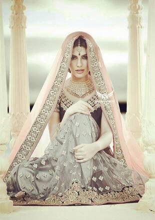 Elnaaz Norouzi Actress Classic Indian Look