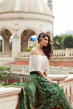 Elnaaz Norouzi Classic Indian Look Photoshoot