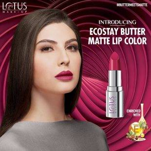 Elnaaz Norouzi Lotus Make Up Promo Ad