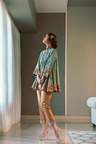 Elnaaz Norouzi Model Indian Look Green Top High Heels Magazine Photoshoot