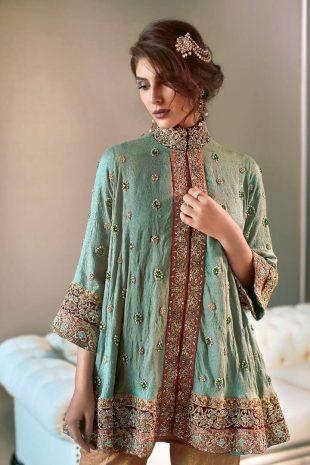 Elnaaz Norouzi Model Indian Look Green Top Magazine Photoshoot