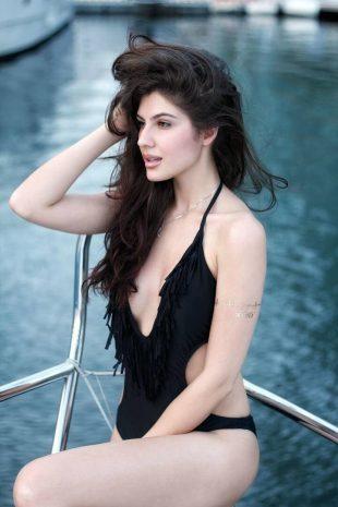 Elnaaz Norouzi Model Swim Suit Photo