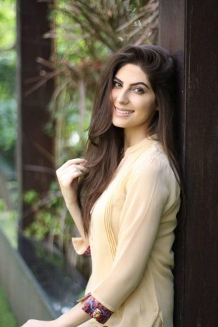 International Model Actress Elnaaz Yellow Top Photoshoot