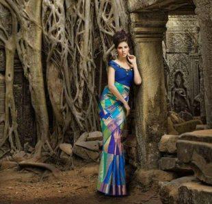 Model Elnaaz Norouzi Promo Ad Outdoor Shoot